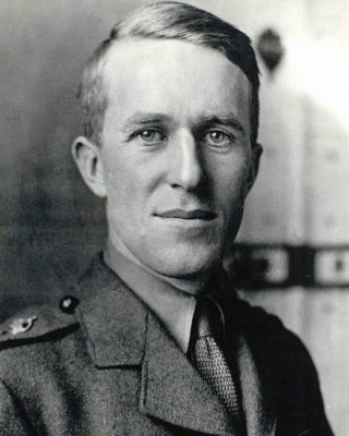 T. E. Lawrence in 1918