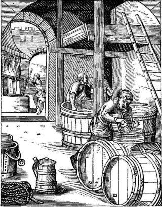Zestiende-eeuwse brouwerij