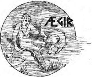 Aegir, de Noordse god van (onder meer) het bier