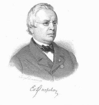 Edouard Ducpétiaux, Belgisch journalist en hervormer van het Belgische gevangenissysteem.