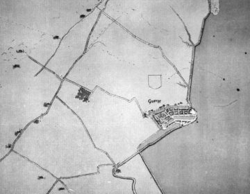 Willekeurige oude kaart van Goeree-Overflakkee