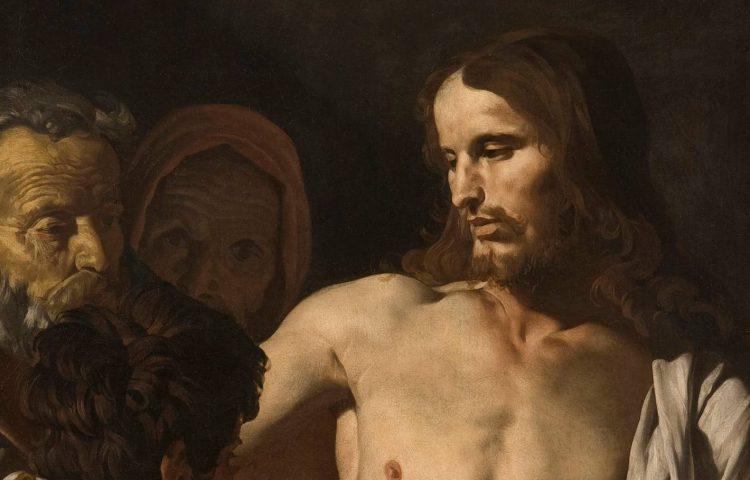 Matthias Stomer, De ongelovige Thomas (c.1645) - Detail
