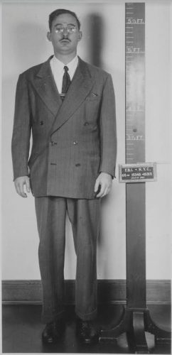 Julius Rosenberg bij zijn arrestatie, 1950