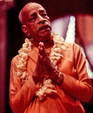 A.C. Bhaktivedanta Swami Praphupada,  vaishnava monnik uit India en stichter van de Hare Krishna-beweging