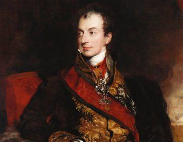 Klemens von Metternich door Thomas Lawrence