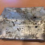 Sigarettendoosje Sovjet-gevangene gevonden bij Kamp Amersfoort