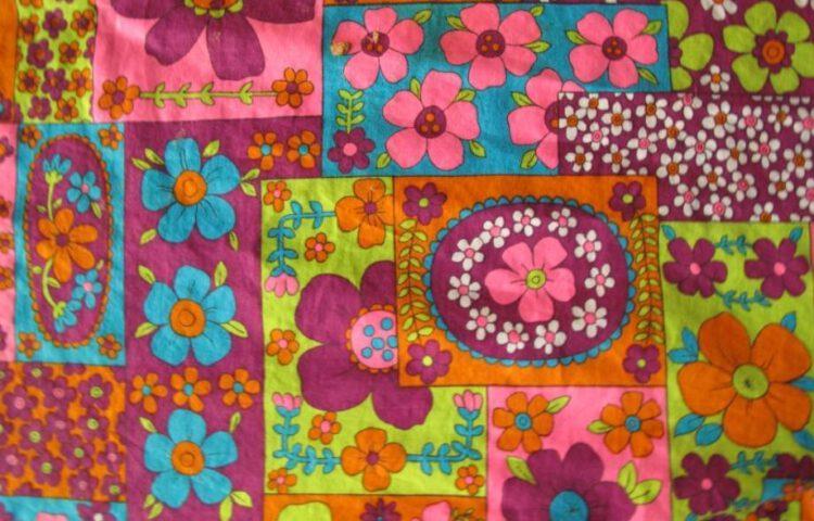 Flowerpower, typisch motief uit de jaren zestig