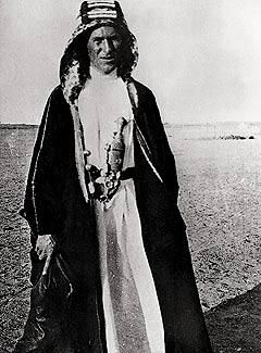 'Lawrence of Arabia' in Djedda, Saoedi-Arabië, 1917