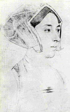 Anna Boleyn - Tekening door Hans Holbein de Jonge