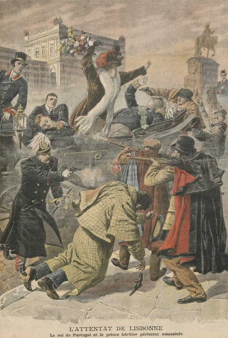 Koningsmoord van Lissabon, 1908
