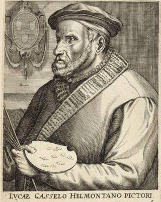 Lucas Gassel volgens Hendrik Hondius, ca. 1572