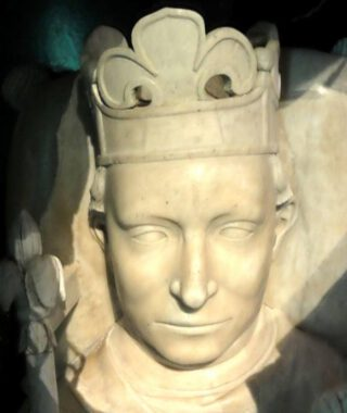 Gisant van koning Karel VI van Frankrijk