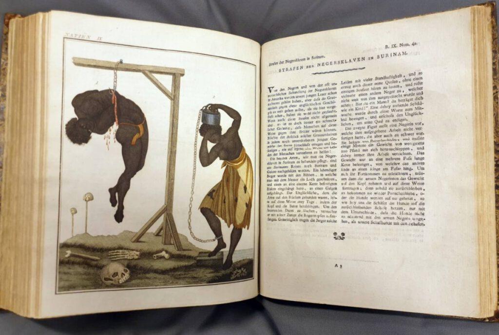 Informatie over slavernij in het 'Nieuw printenboek voor kinderen'