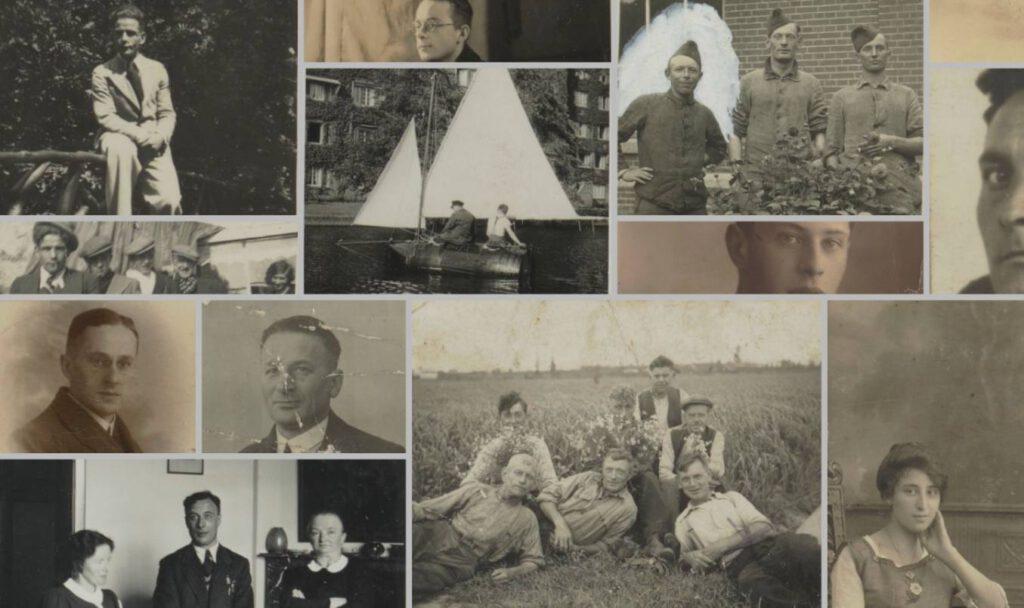 Ingezonden foto's voor het Gedenkboek (Bron: IISG)
