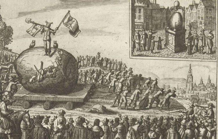 De Amersfoortse kei - Amersfoortse steentrekking, 1661