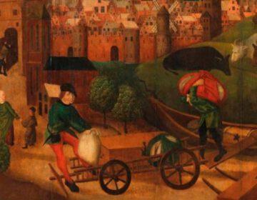 De oudste stad van Holland - Detail van de boekcover