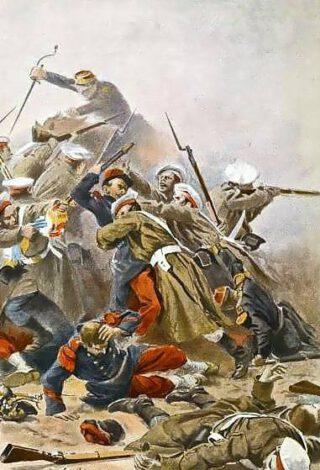 Russische-Frans treffen tijdens de Krimoorlog