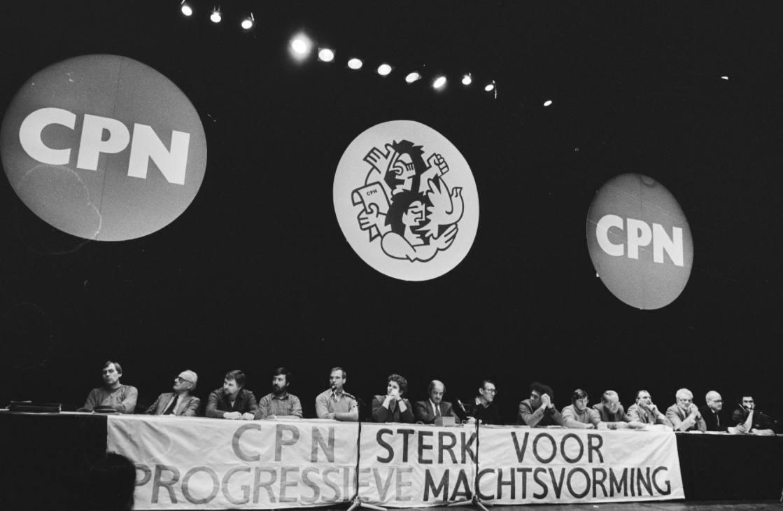 CPN-congres in de Meervaart in Amsterdam, 1952