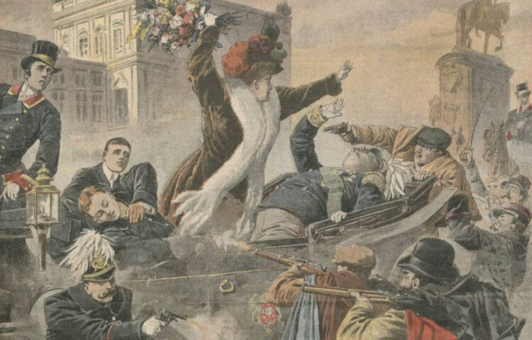 Koningsmoord van Lissabon, 1908 - detail