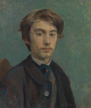 Portret van Émile Bernard door Henri de Toulouse-Lautrec
