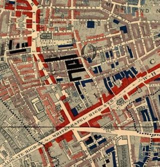 Descriptive Map of London Poverty 1889