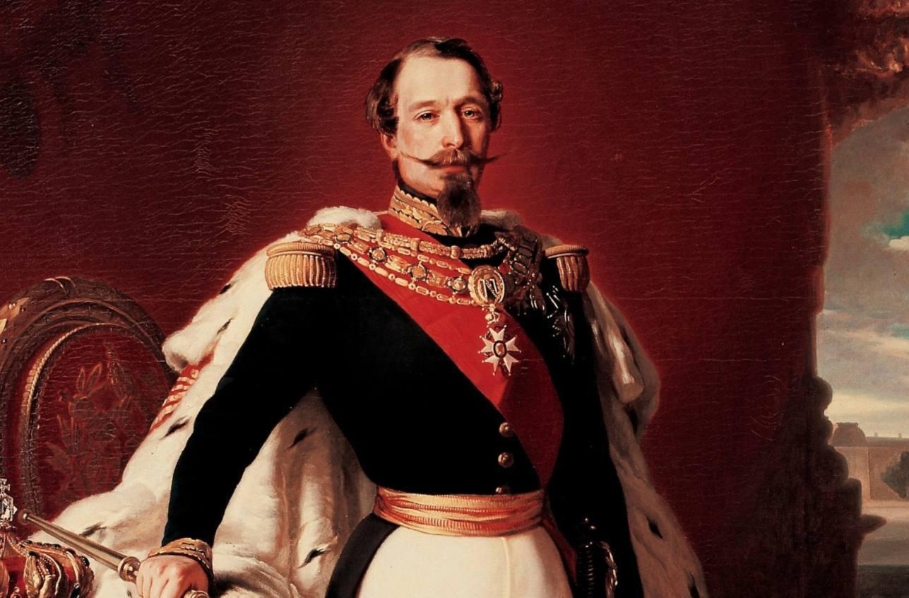 Portret van Napoleon III van Frankrijk, 1855