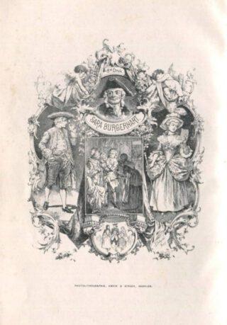 Sara Burgerhart, voorblad voor de achtste editie, 1891