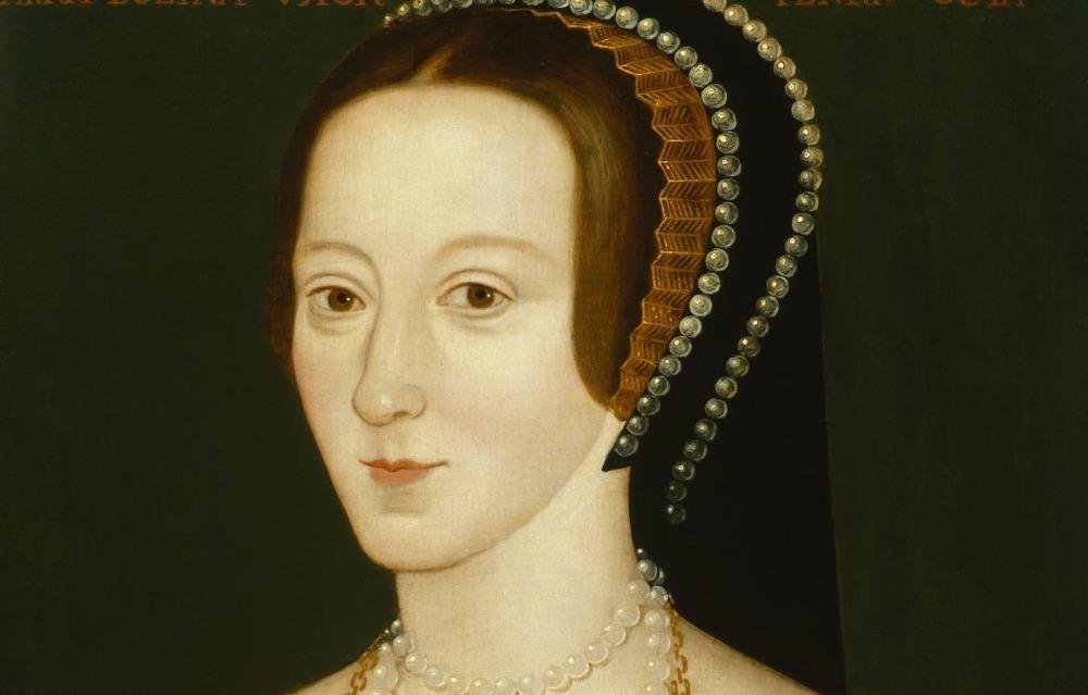 Anna Boleyn - Portret door een onbekende kunstenaar, ca. 1534
