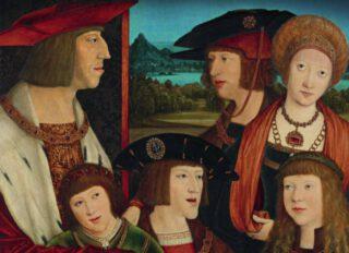 De Habsburgers - Detail van de boekcover