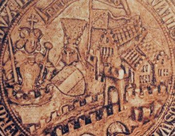 Zegel van Rudolf IV van Oostenrijk