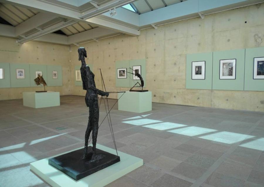 'De diabalo' van Germaine Richier - Foto gemaakt tijdens tentoonstelling Museum Beelden aan Zee