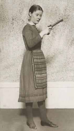 Peg Entwistle in The Wild Duck, circa 1925