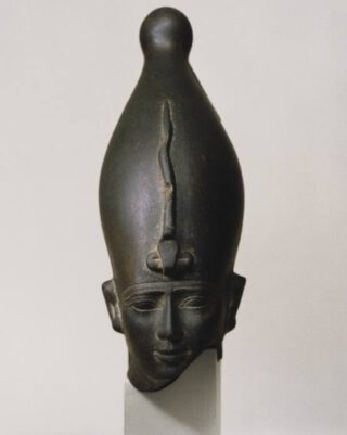 Hoofd van de god Osiris
