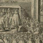 Archeologen op zoek naar resten Johan van Oldenbarnevelt