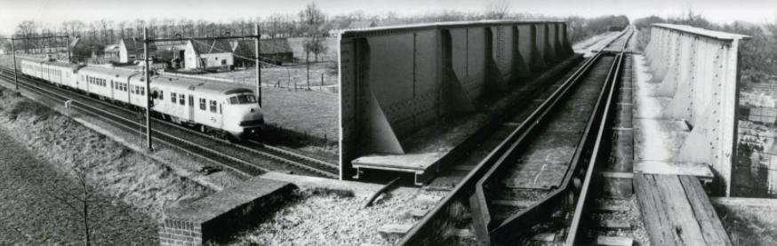 Deel van een verdwenen spoorlijn