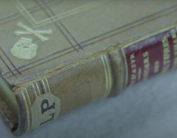 Boek met mensenhuis in de collectie van de KB in Brussel