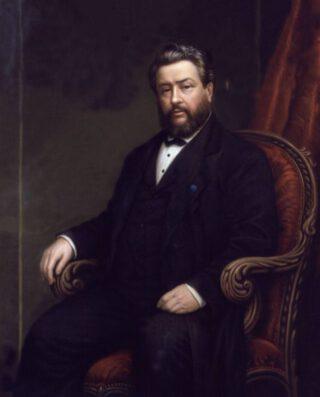 Charles Haddon Spurgeon - Portret door Alexander Melville