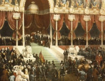 21 juli 1831 - Leopold I legt de grondwettelijke eed af - Egide Charles Gustave Wappers