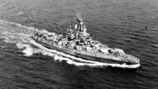 USS Nevada in september 1944