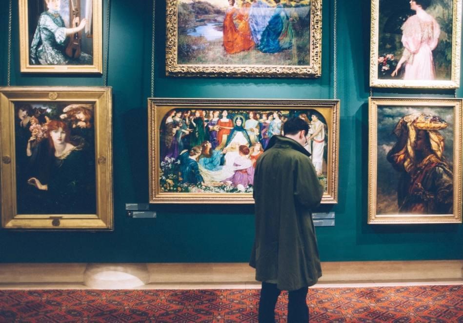 Museumbezoeker