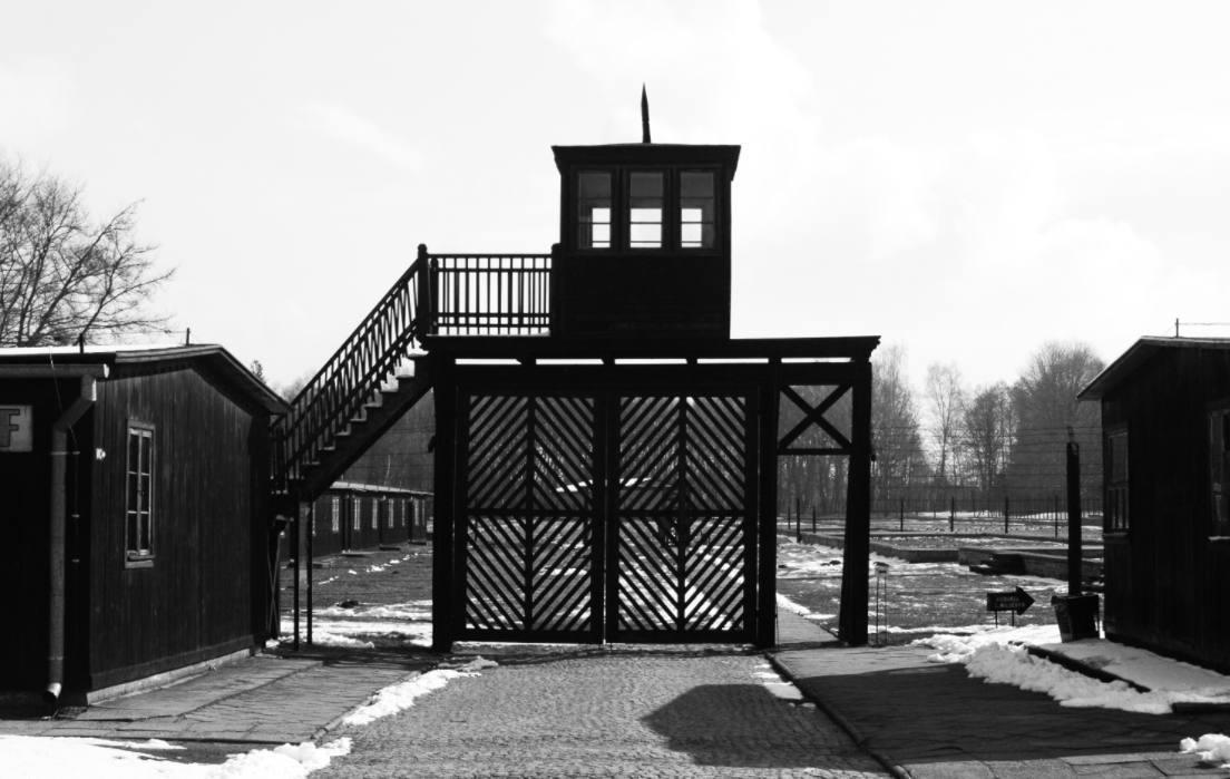 Poort van concentratiekamp Stutthof, 2008