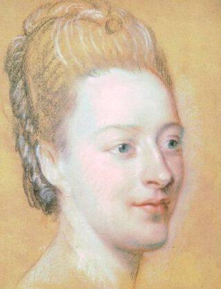 Belle van Zuylen - Portret door Maurice Quentin de La Tour, 1771