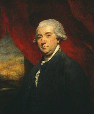 James Boswell - Portret door Joshua Reynolds, 1785