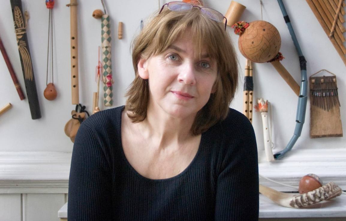Joke van Leeuwen bij haar thuis in Antwerpen, 2008