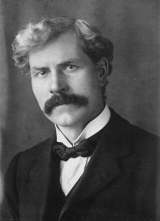 De Britse premier Ramsay MacDonald