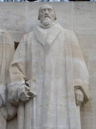 Standbeeld van John Knox in Geneve