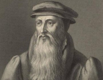John Knox - Negentiende-euwse gravure van William Holl