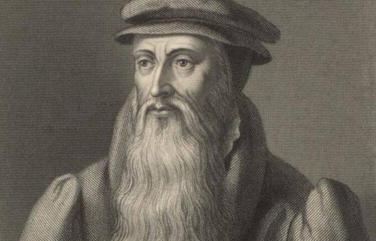 John Knox - Negentiende-euwse gravure van William Holl