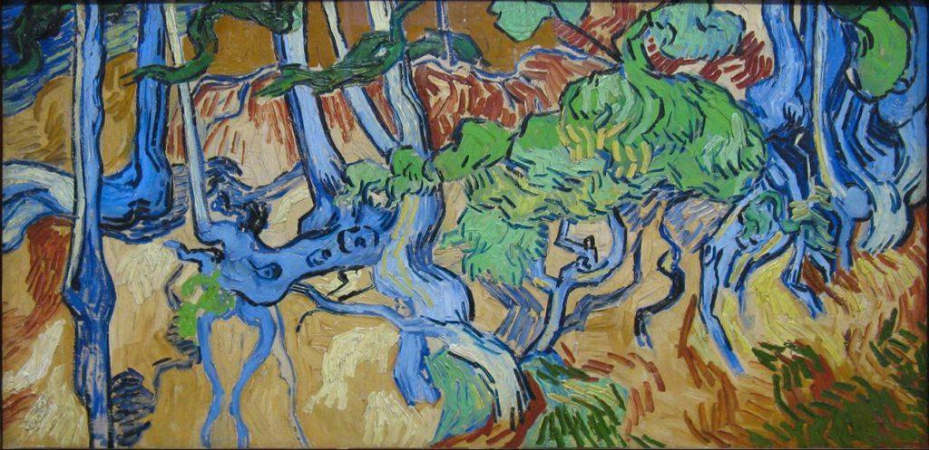 Boomwortels - Vincent van Gogh, 1890