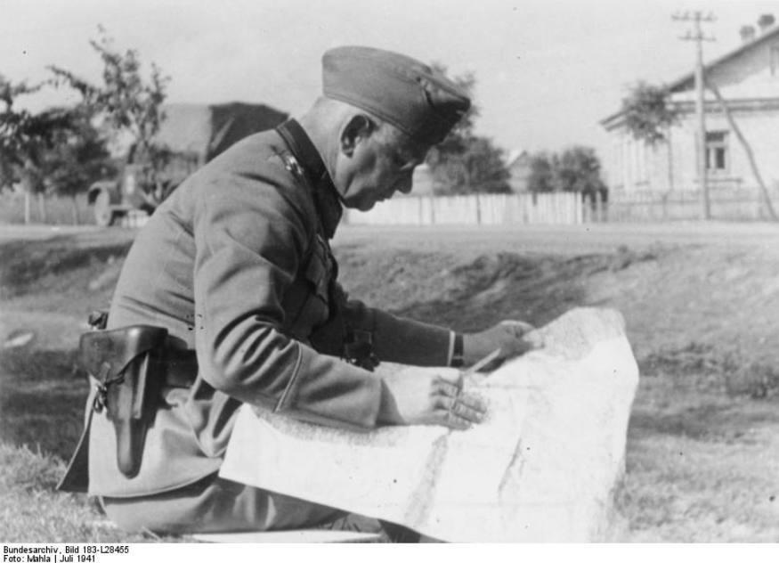 Von Reichenau aan het Sovjet-front